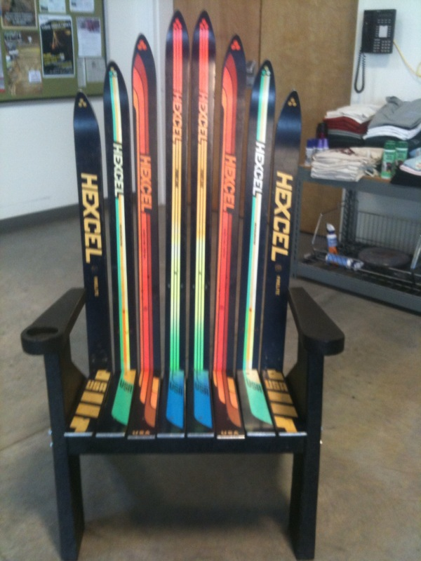 Woodworking Build Adirondack Chair With Skis PDF Free Download