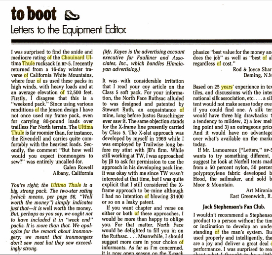 Galen-Rowell-letter-to-editor-Thule