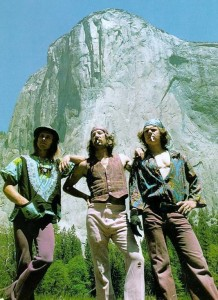 Dirtbags hard at work. The Stonemasters climb the Nose in a day. 1975.